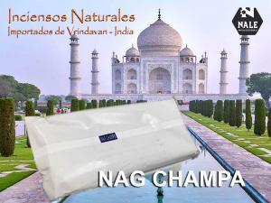 INCIENSO 100% NATURAL NAG CHAMPA